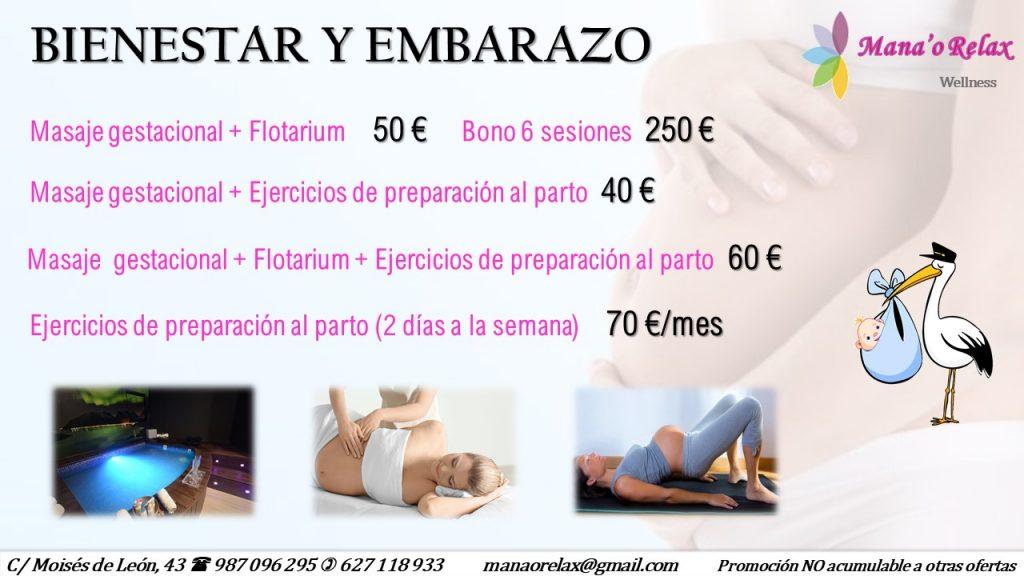 Promoción especial para embarazadas