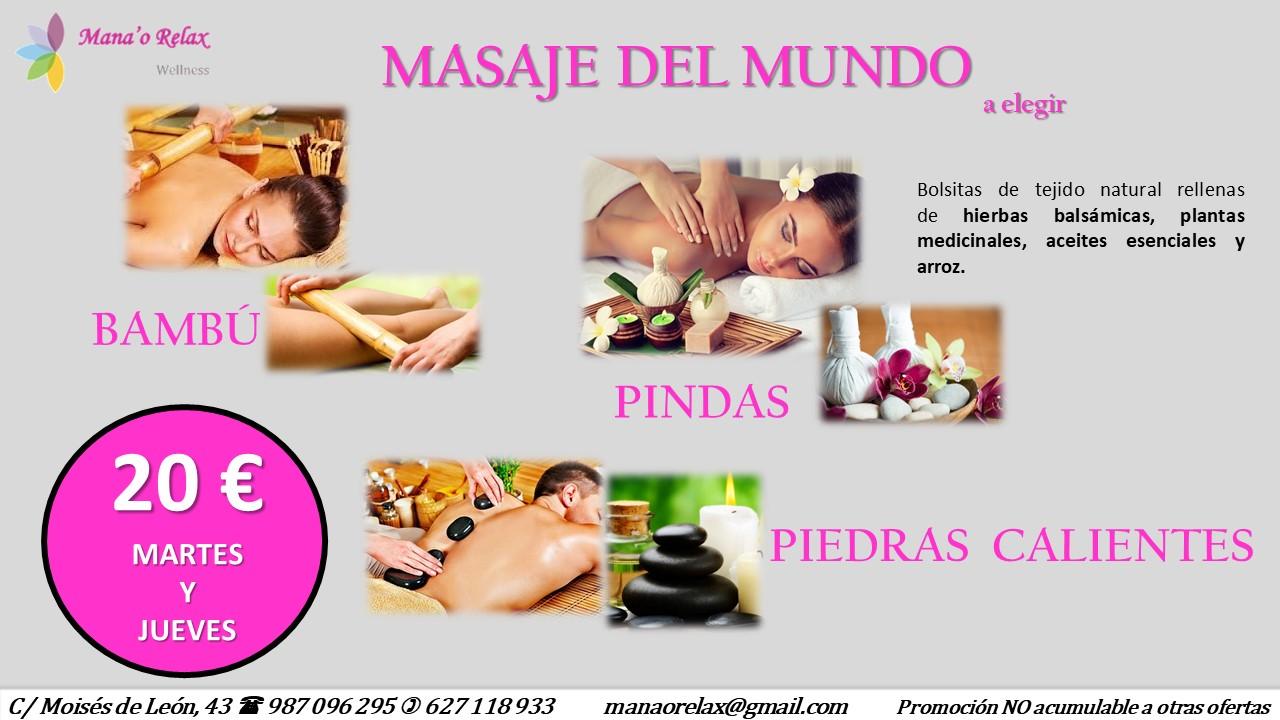 Disfruta de los mejores masajes del mundo